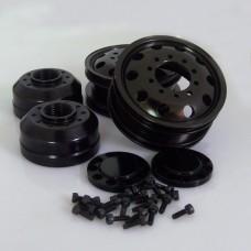 Tamiya 1/14 Tractor Truck Metal Front wheel set 11111302