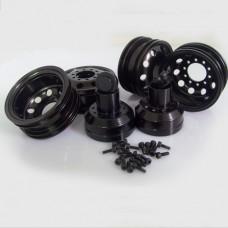 Tamiya 1/14 Tractor Truck Metal Rear wheel set 11111402
